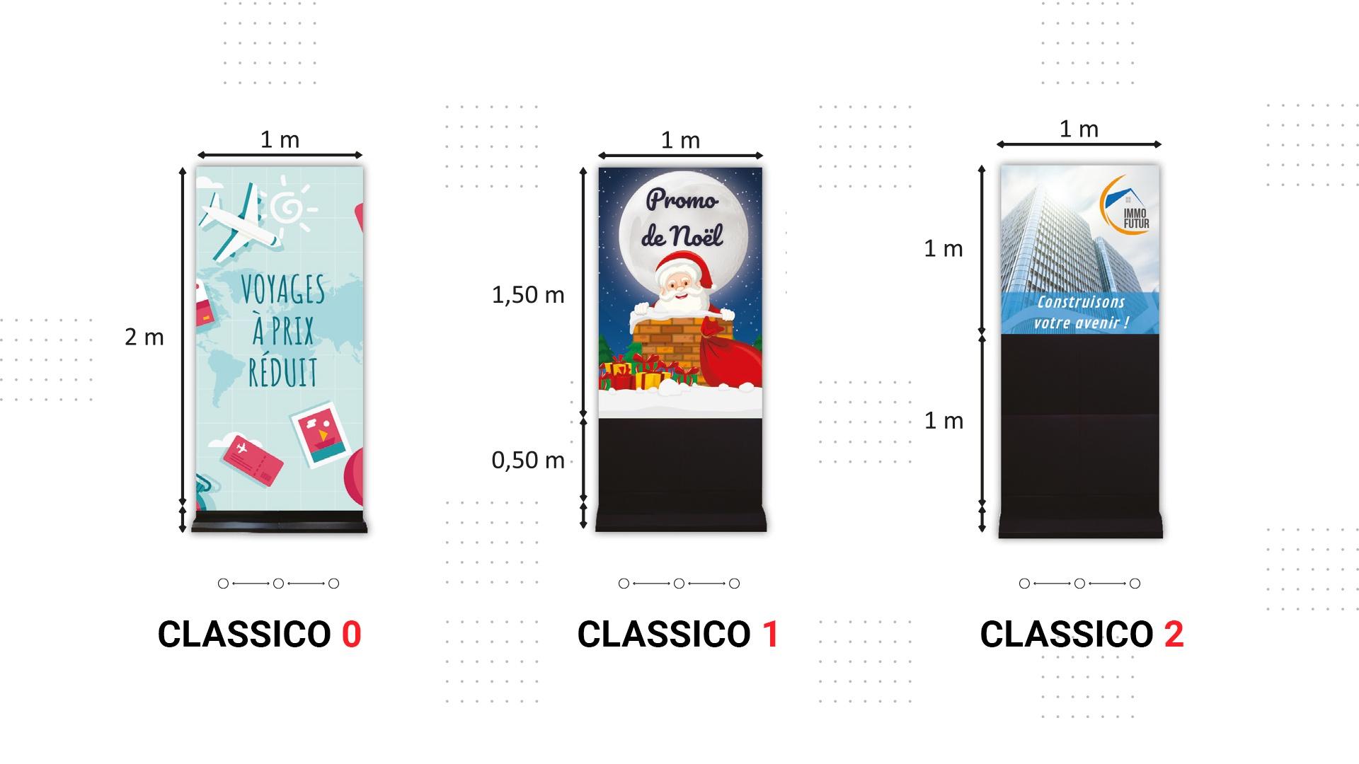 screenfit media produit indoor classico
